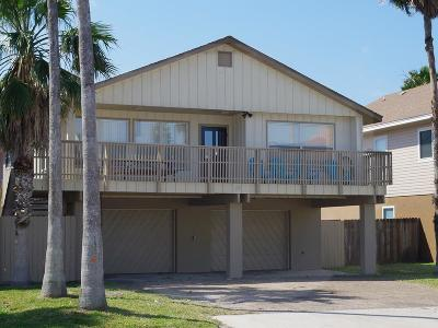 South Padre Island Single Family Home For Sale: 125 E Hibiscus St.