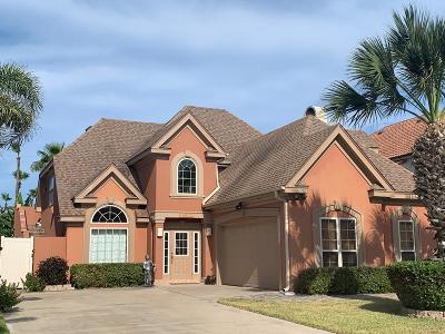 South Padre Island Single Family Home For Sale: 5902 Tropical Dr.