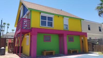 South Padre Island Multi Family Home For Sale: 129 E Esperanza Ave.