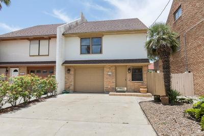 South Padre Island Condo/Townhouse For Sale: 5609 B Circe Circle