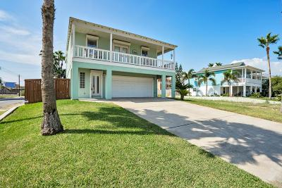 South Padre Island Single Family Home For Sale: 201 W Lantana St.