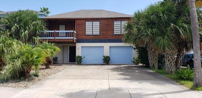 South Padre Island Single Family Home For Sale: 123 E Huisache St.