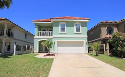 South Padre Island Single Family Home For Sale: 212 W Sunset Dr.