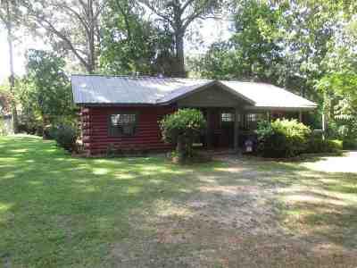 Hemphill Single Family Home For Sale: 540 Confederate Drive