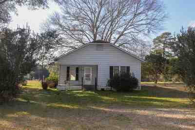 Burkeville Single Family Home For Sale: 193 Cr 2095