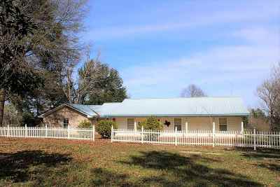 Burkeville Single Family Home For Sale: 3322 Cr 2107