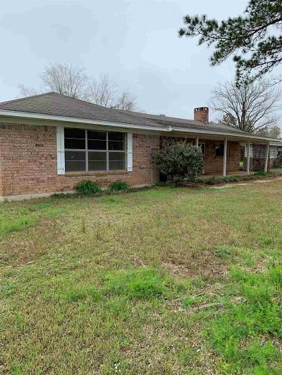 Hemphill TX Single Family Home For Sale: $250,000