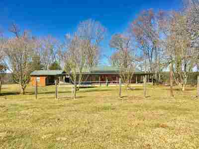 San Augustine Single Family Home For Sale: 3390 Cr 205