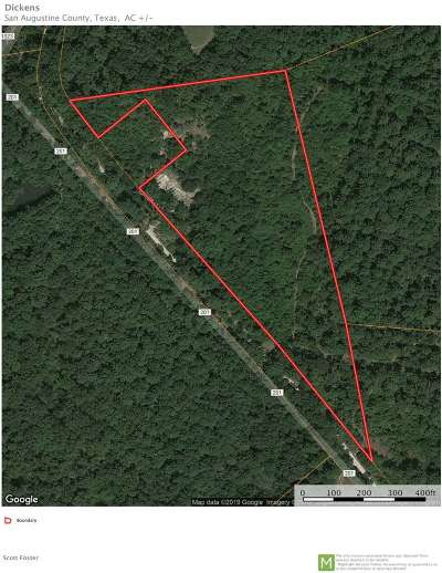 San Augustine Residential Lots & Land For Sale: Cr 201