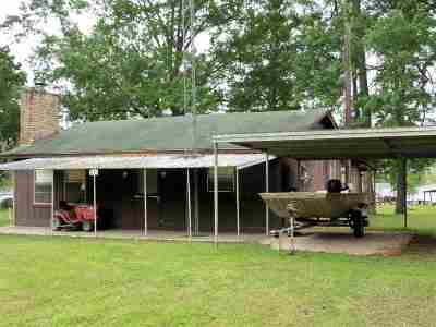 Newton County, Sabine County Single Family Home For Sale: 210 Lake Drive