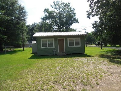 Hemphill TX Single Family Home For Sale: $45,000
