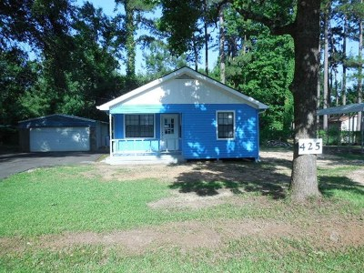Burkeville, Hemphill Single Family Home For Sale: 425 Forest Glen Dr.