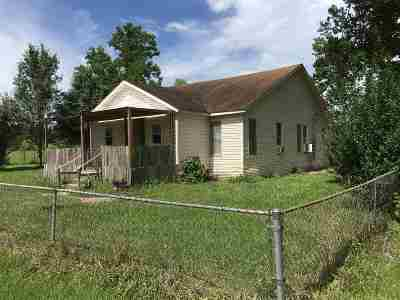 Newton Single Family Home For Sale: 7608 S Texas State Hwy 87