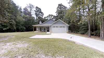 Jasper County Single Family Home For Sale: 465 Angelina Dr #Rayburn