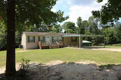 Jasper County Single Family Home For Sale: 554 Co. Rd. 292