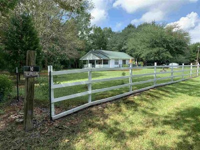 Newton County Single Family Home For Sale: 658 Cr 3066