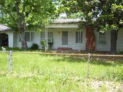 San Augustine, Sanaugustine Single Family Home For Sale: 5472 N Hwy 147