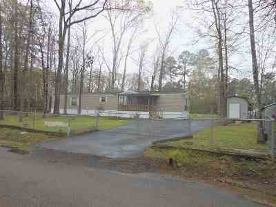 Burkeville, Hemphill, Hemphill Sub-division, Milam, Shelbyville Manufactured Home For Sale: 600 Midlake Drive N #Midlake