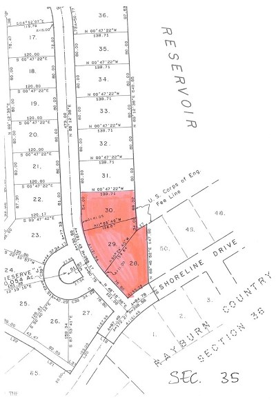 Huntington, Zavalla, Brookeland, Etoile, Broaddus, Bronson Residential Lots & Land For Sale: Section 35 Lots 28-30