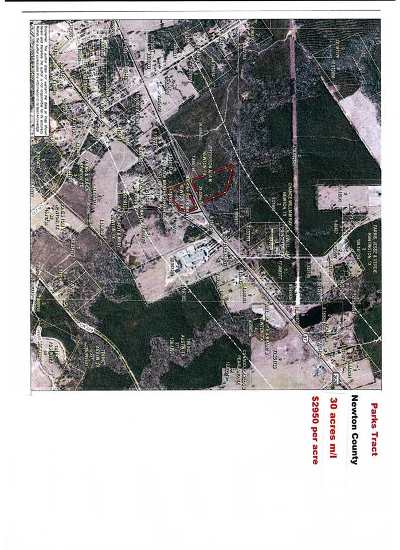 Newton Residential Lots & Land For Sale: Hwy 87 N #Parks Tr