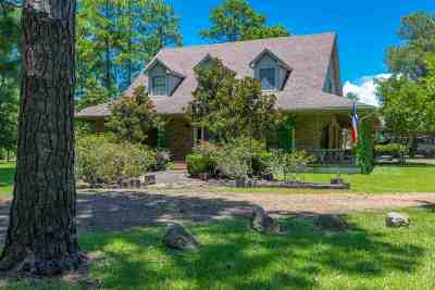 Brookeland Farm & Ranch For Sale: 104 Black Squirrel