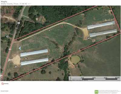 Angelina County, Jasper County, Nacogdoches County, Newton County, Sabine County, San Augustine County, Shelby County Farm & Ranch For Sale: 5390 Fm 414