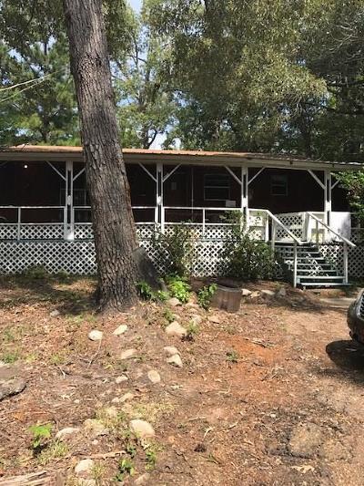 Hemphill TX Single Family Home For Sale: $89,000