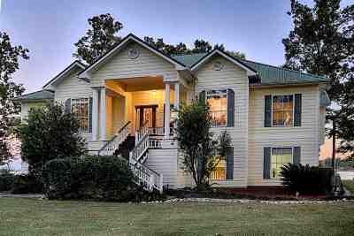Burkeville, Hemphill Single Family Home For Sale: 400 Kalyn Drive