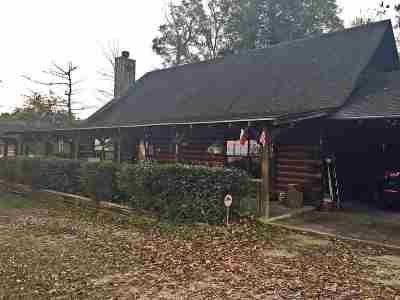 Burkeville, Hemphill Single Family Home For Sale: 245 Redbud Circle