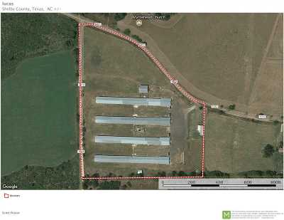 Angelina County, Jasper County, Nacogdoches County, Newton County, Sabine County, San Augustine County, Shelby County Farm & Ranch For Sale: 1215 Cr 1012