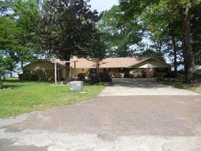 Bon Weir, Bon Wier, Burkeville, Wiergate, Hemphill, Milam, Shelbyvile, Shelbyville Single Family Home For Sale: 310 Lakeshore Dr.