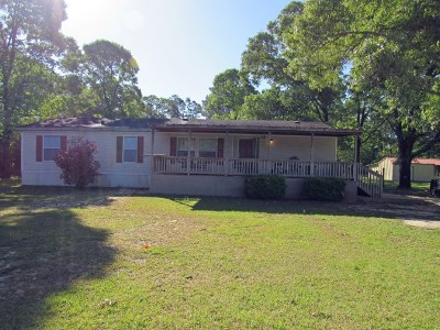 Brookeland Single Family Home For Sale: 3064,3066&3068 Fm 1007