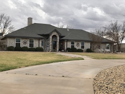 Seminole TX Single Family Home For Sale: $450,000