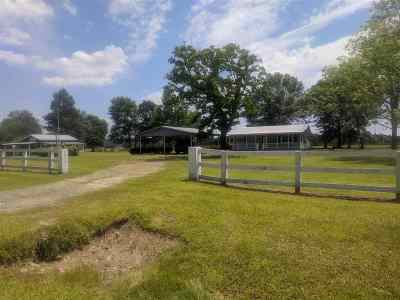 Newton County Single Family Home Pending With Contingency: 3913 E Fm 82