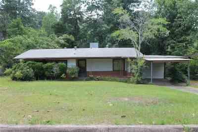 Jasper Single Family Home For Sale: 605 Pine St.