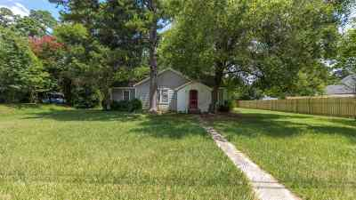 Jasper TX Single Family Home Accepting Backups: $74,900