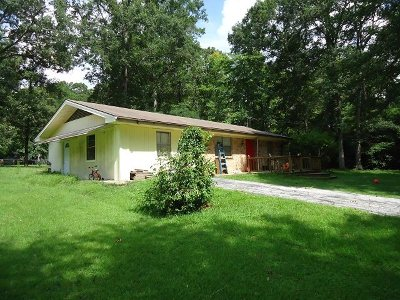 Hemphill TX Single Family Home For Sale: $85,000