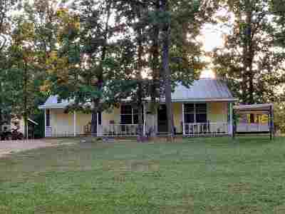 Burkeville, Hemphill Single Family Home For Sale: 325 Jennifer Lane