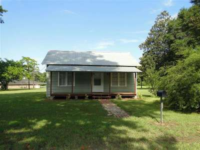 Burkeville Single Family Home For Sale: 155 Cr 2095
