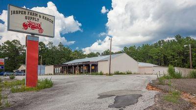 Jasper Commercial For Sale: 2850 N Wheeler