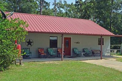 Zavalla Single Family Home For Sale: 348 Concord Hills Rds.