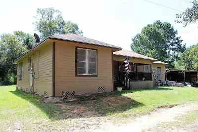 Jasper TX Single Family Home For Sale: $95,000