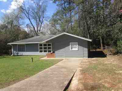 Jasper TX Single Family Home For Sale: $1,100