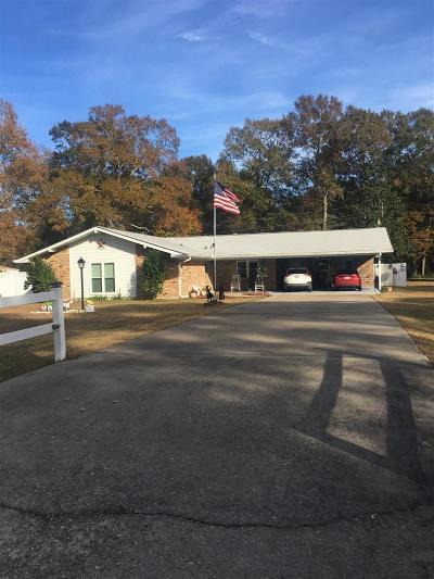 Jasper TX Single Family Home For Sale: $189,900