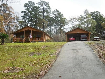 Burkeville, Hemphill, Hemphill Sub-division, Milam, Shelbyville Single Family Home For Sale: 510 Lakeland Circle