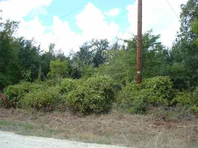 Marlin Residential Lots & Land For Sale: Cr 106