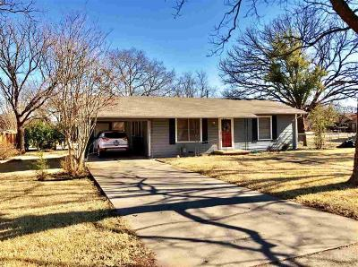 Clifton Single Family Home For Sale: 307 N Ave R