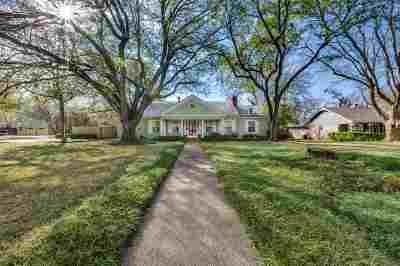 Waco Single Family Home For Sale: 3200 Windsor Avenue