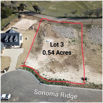 China Spring Residential Lots & Land For Sale: 145 Sonoma Ridge