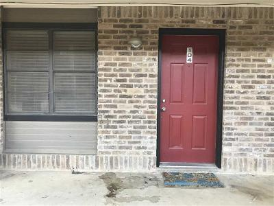 Waco Condo/Townhouse For Sale: 1422 S 12th #104